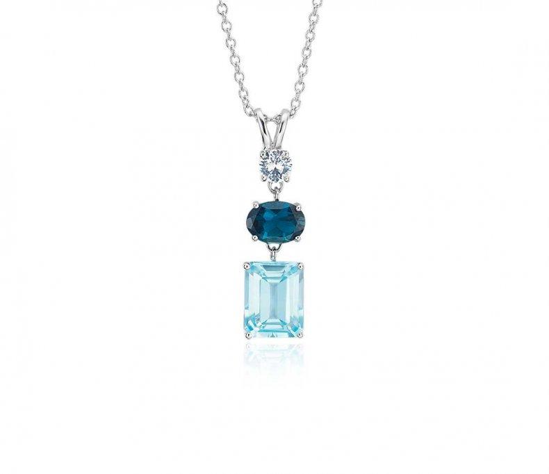 blue nile necklace