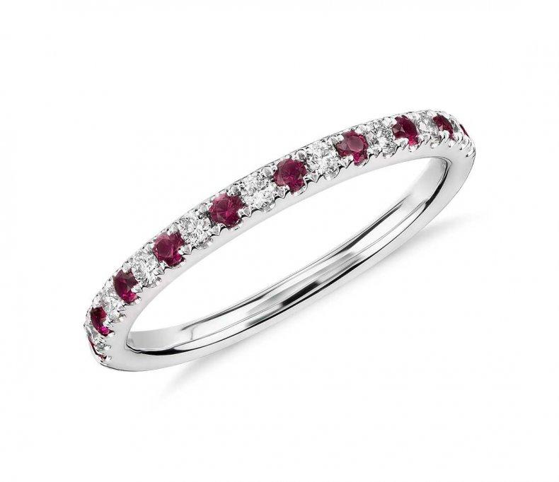 ruby diamond ring blue nile