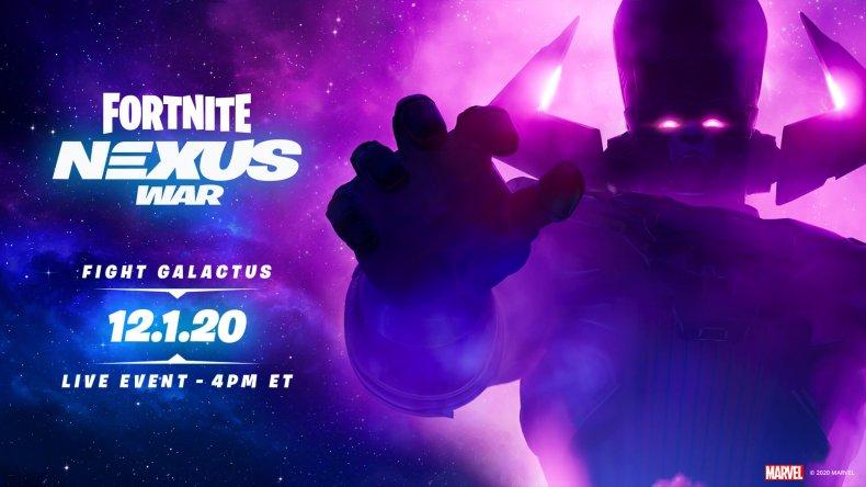 fortnite galactus devourer worlds event start time