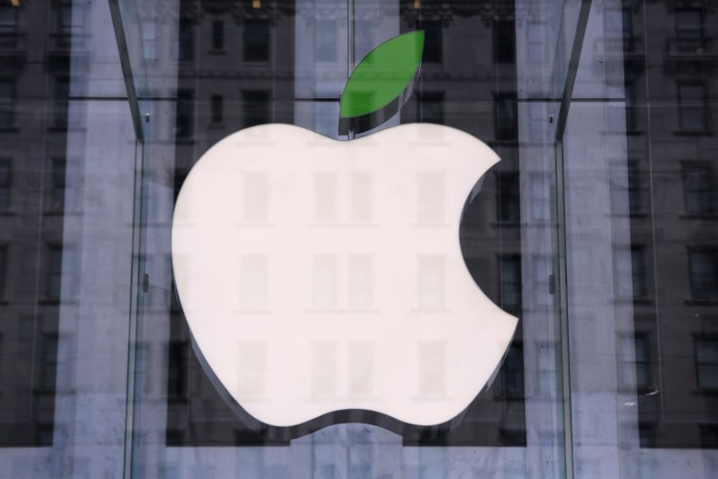 Apple store logo NYC 2014