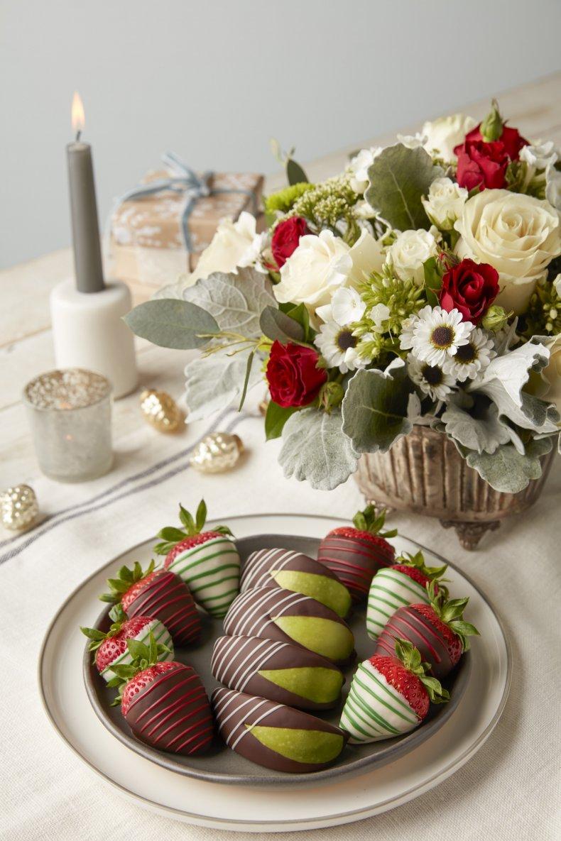 fruit basket edible