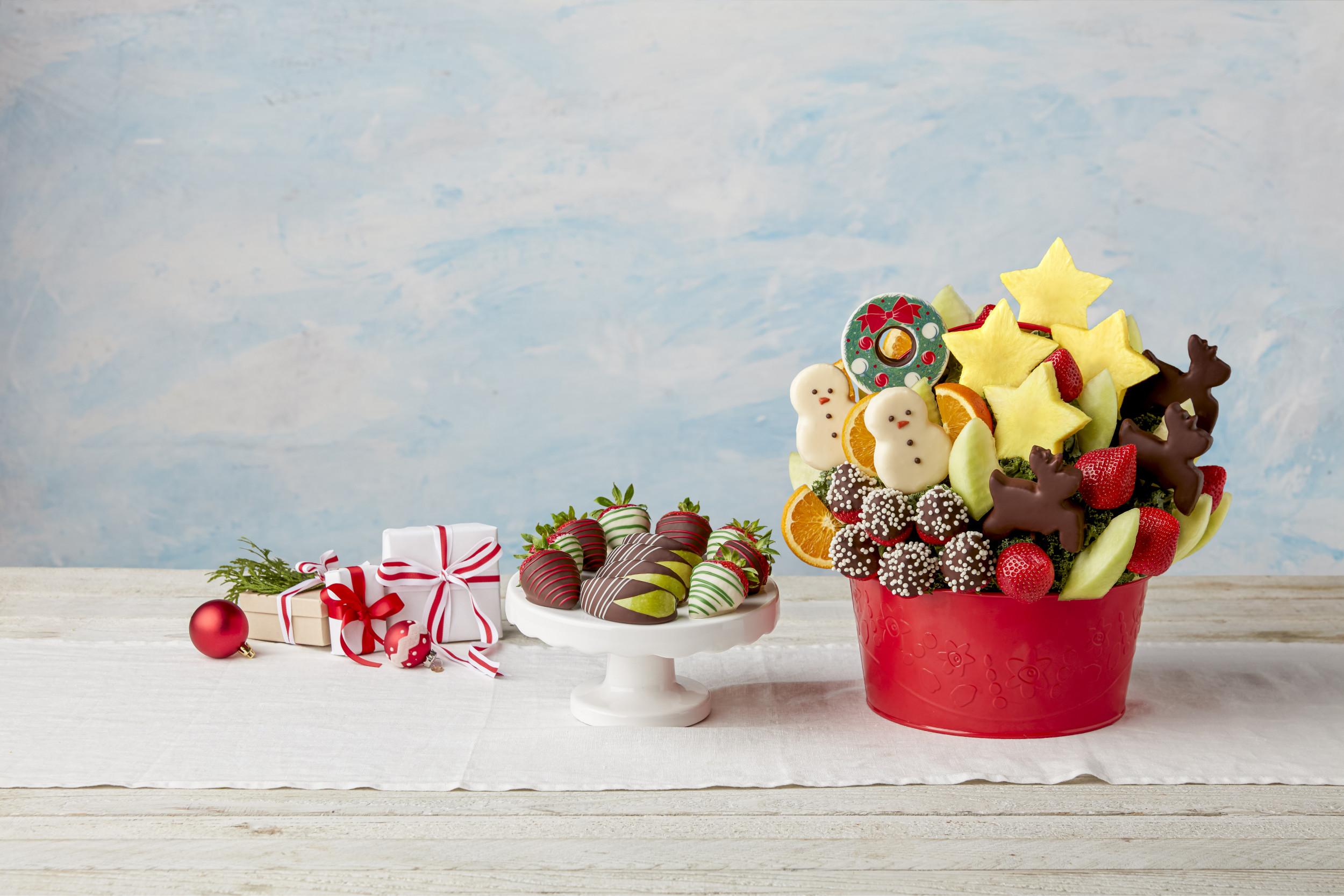 fruit basket edible package
