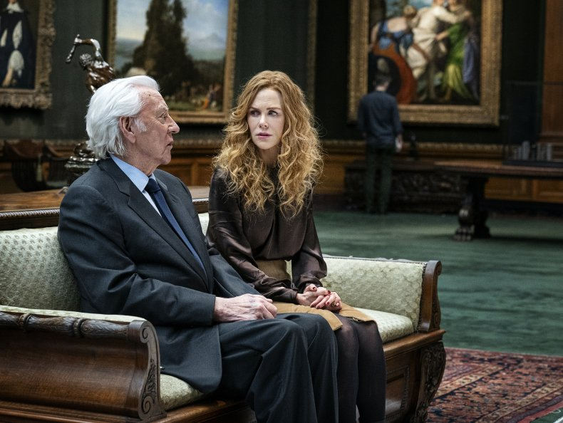 Donald Sutherland Nicole Kidman The Undoing