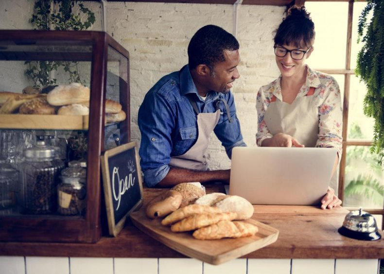 Half of small business are based in a home