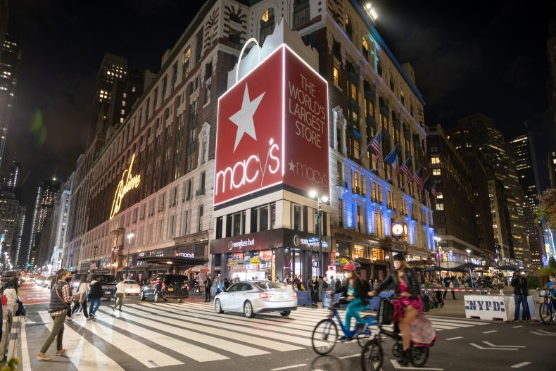 Macy's NYC November 2020