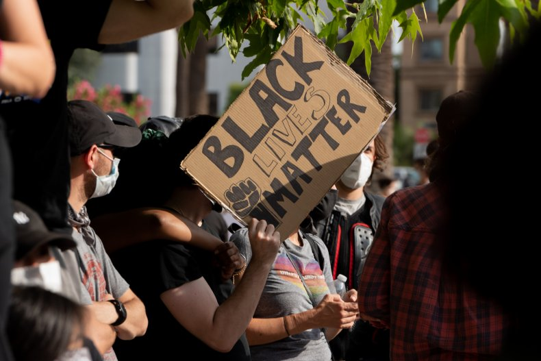 BLM protest in Los Angeles