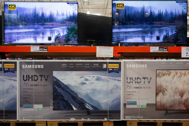 Costco Washington D.C. 2018 Samsung tv