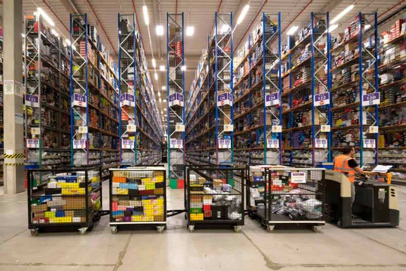 amazon warehouse wales