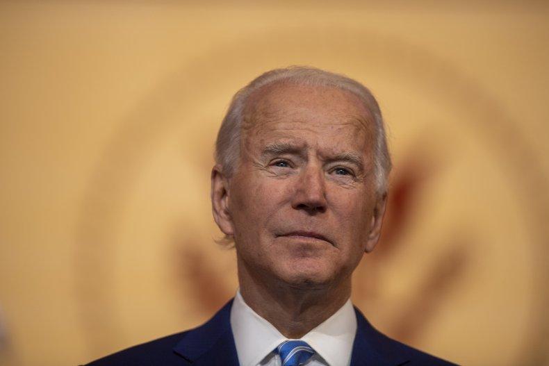 Presumptive President-elect Joe Biden