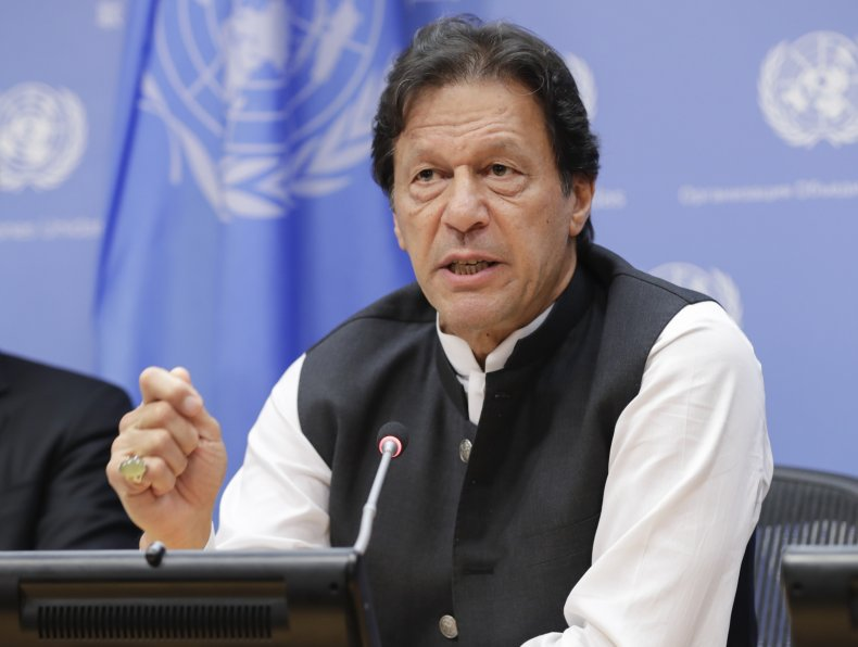 Prime Minister of Pakistan Imran Khan