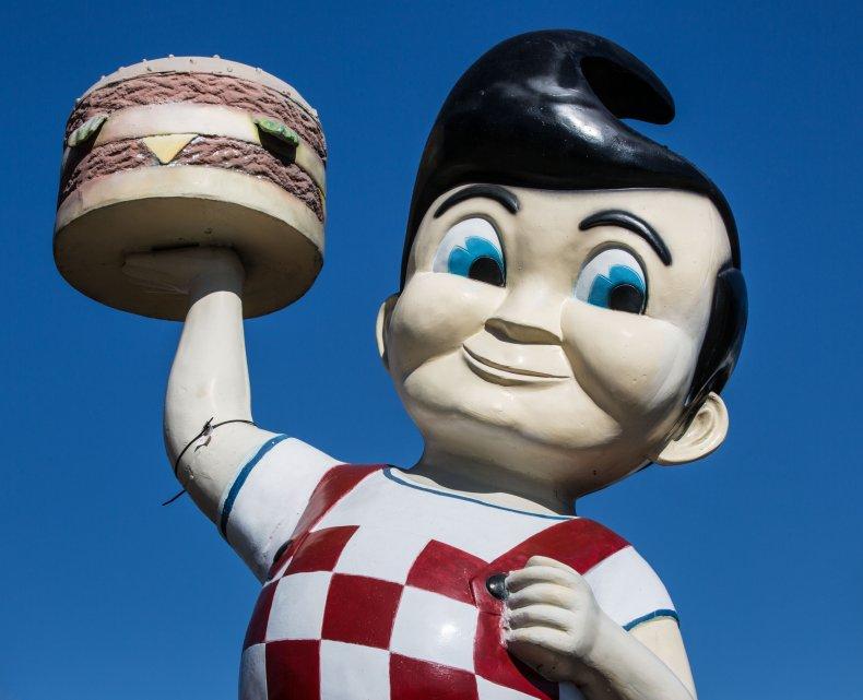 Big boy mascot