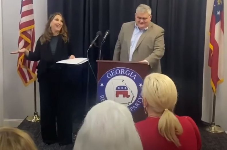 ronna mcdaniel gop chair georgia