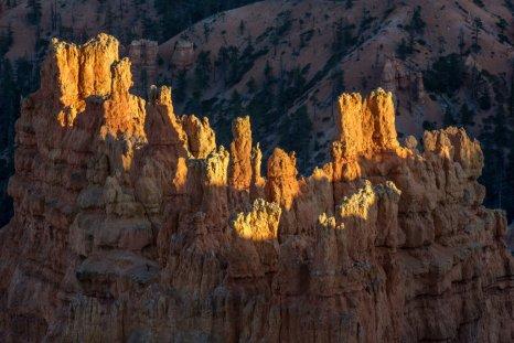 Rock formations Bryce Canyon Utah