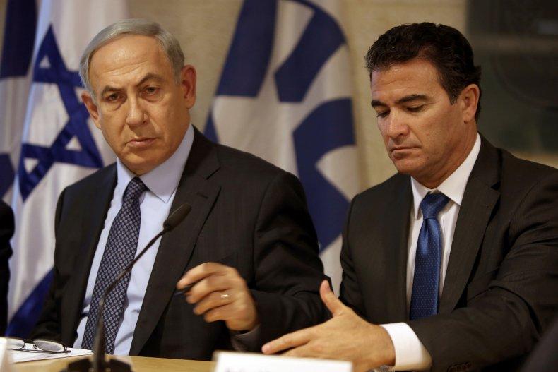 Israeli Prime Minister Benjamin Netanyahu and Mossad