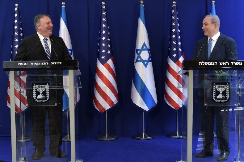 Secretary of State Mike Pompeo and Israeli