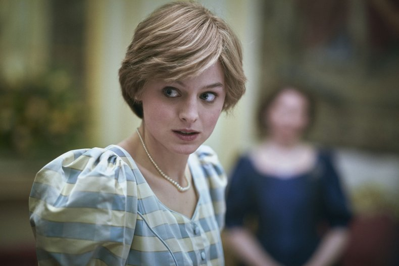 Emma Corrin as Princess Diana, The Crown