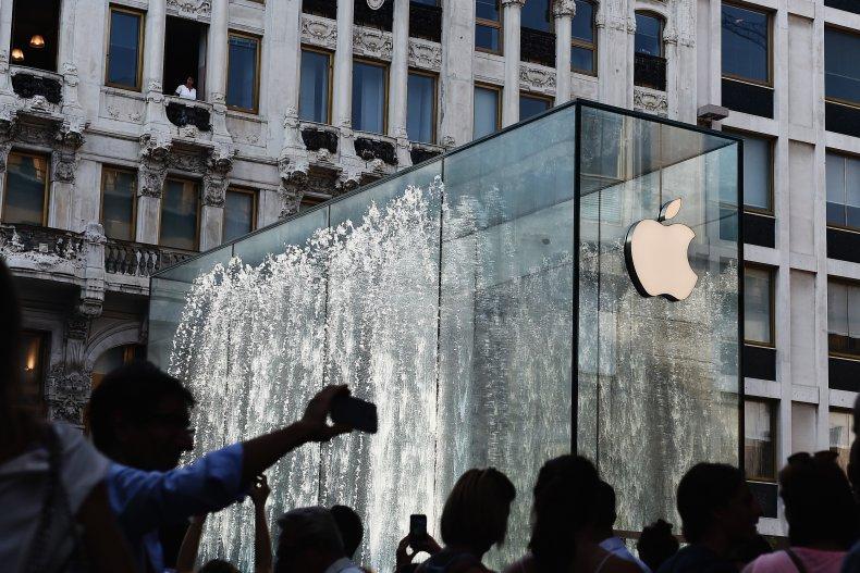 Apple store Milan Italy