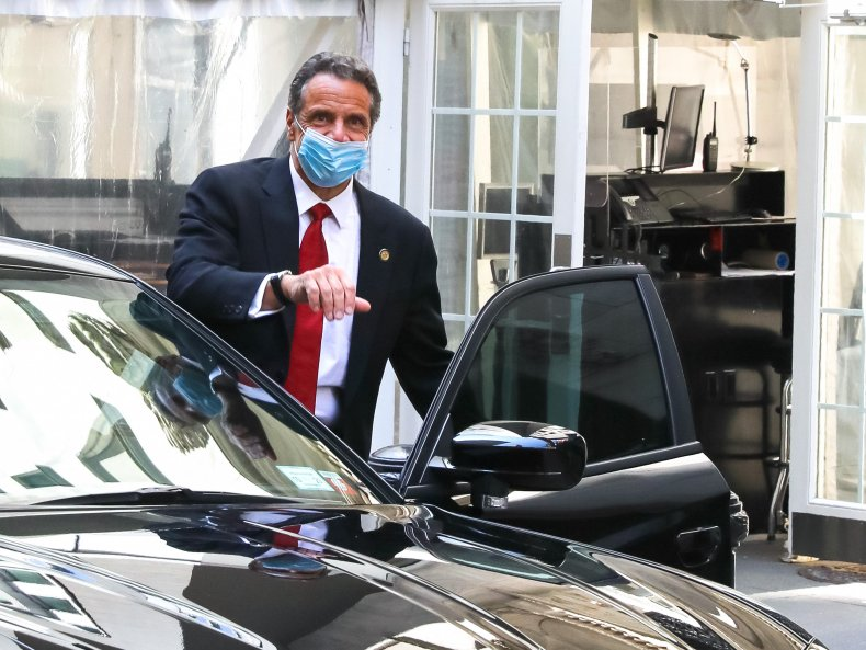 andrew cuomo mask holiday parties