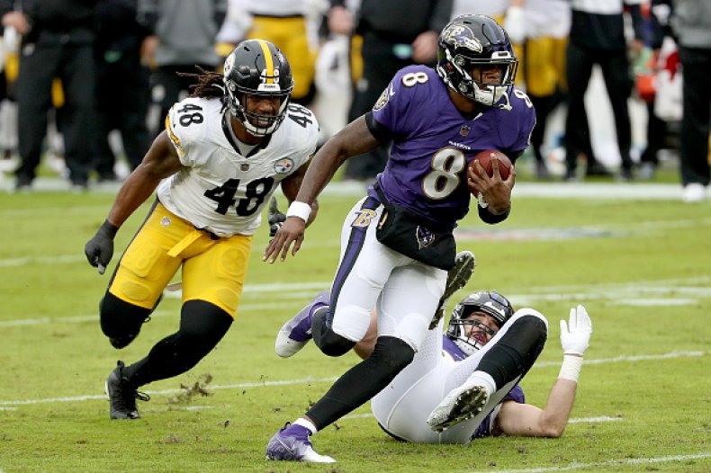 Ravens and Steelers