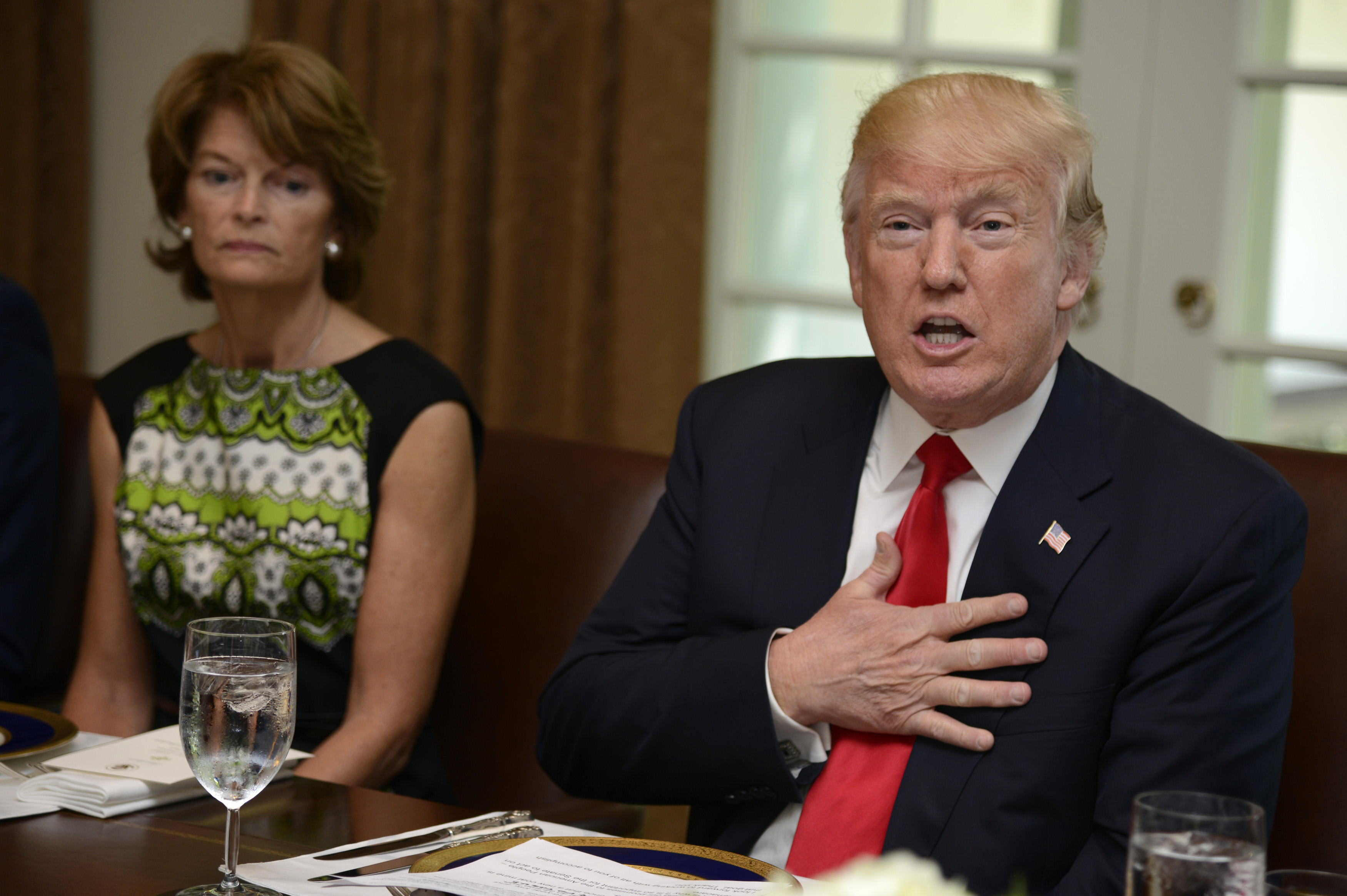 """Republican Senator Murkowski tells Trump to concede now, says """"race is over"""""""