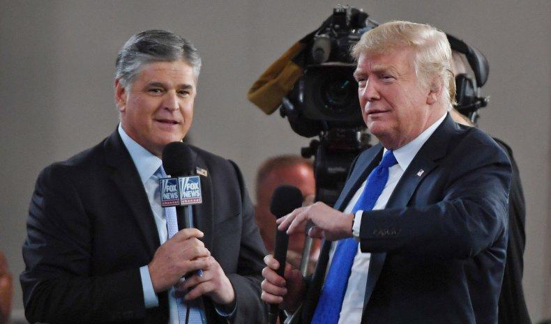 Sean Hannity Donald Trump family presidential pardon
