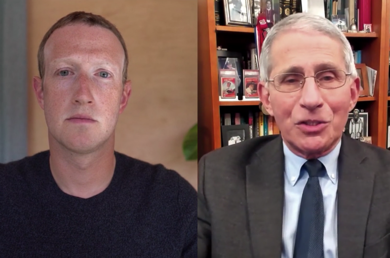 Zuckerberg Fauci Interview