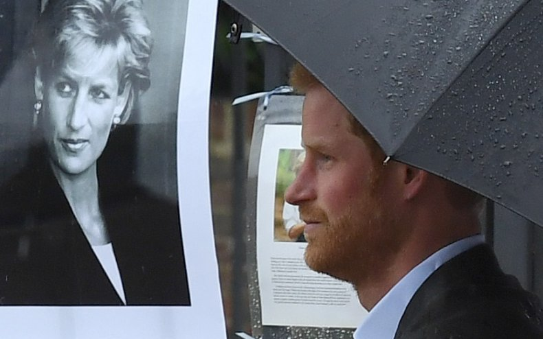Prince Harry Tributes to Princess Diana Death