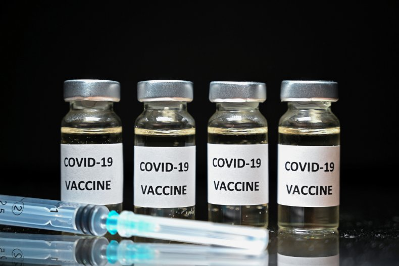 COVID-19 vaccine illustration