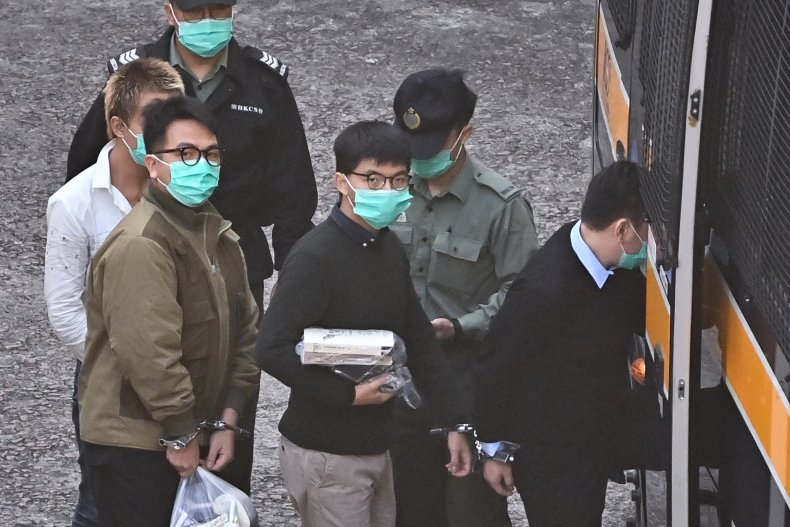 Hong Kong, China, Joshua Wong, Ivan Lam