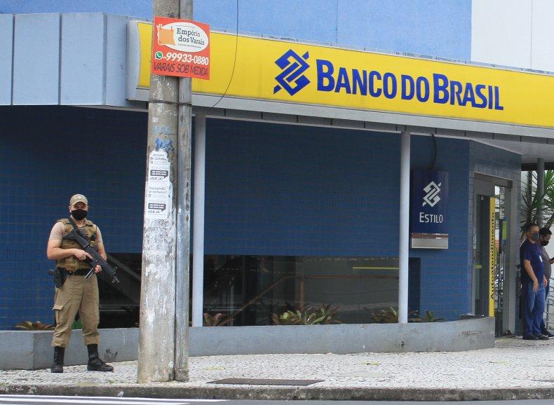 brazil bank robbery
