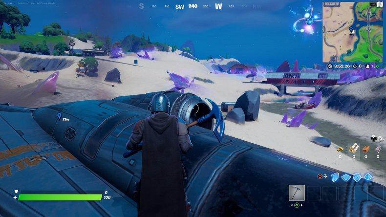 fortnite razor crest location gameplay