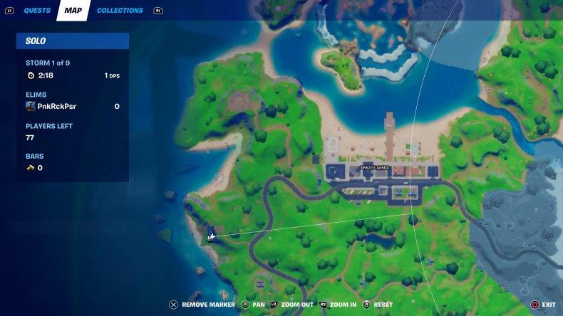 fortnite complete bounty location