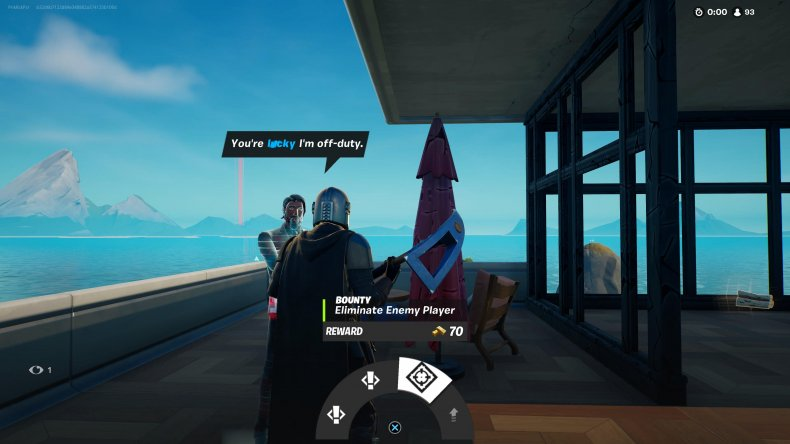fortnite bounty character