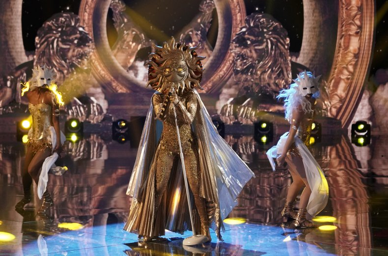 Watch The Sun on 'The Masked Singer'