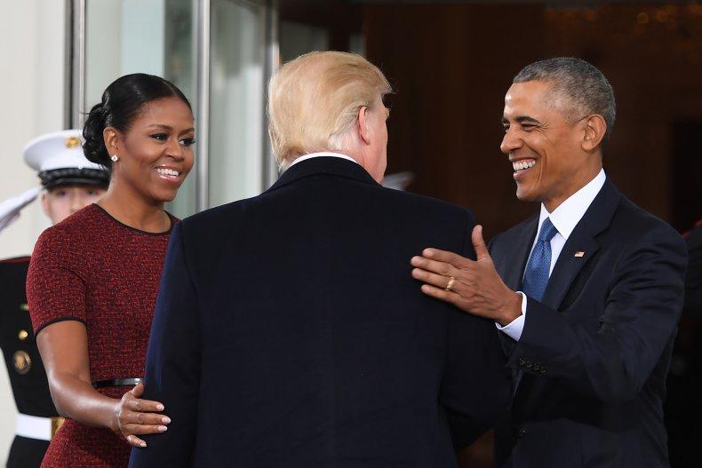 Barack Obama Michelle Obama Trump