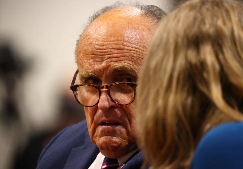 Giuliani Appears Before the Michigan House