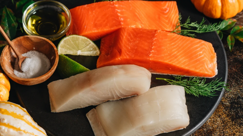 Alaska Halibut & King Salmon Duo Sizzlefish
