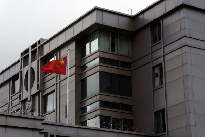 China embassy Houston