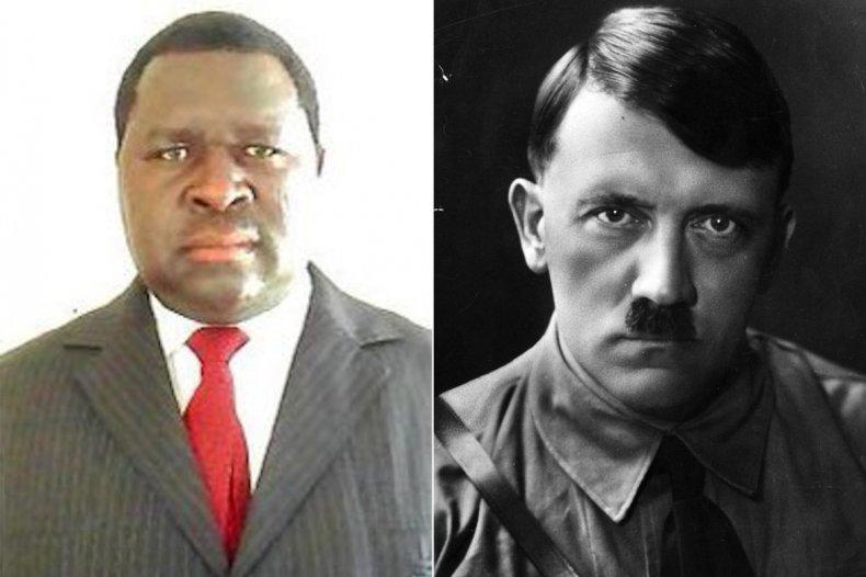 Adolf H Uuona and Adolf Hitler