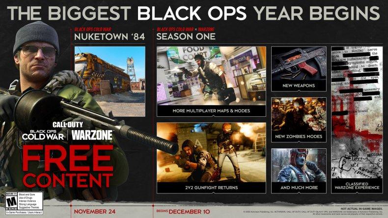 black ops war season 1 leaks roadmap