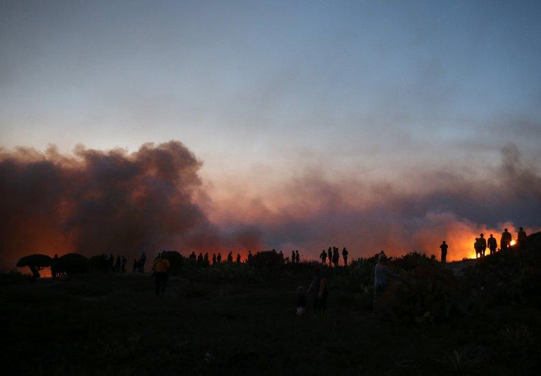 Silverado Fire in Orange County October 2020