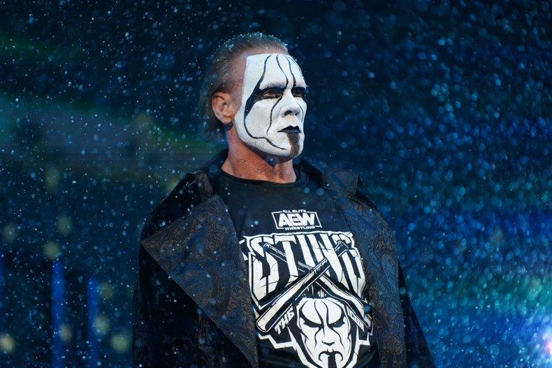 sting all elite wrestling dynamite appearance