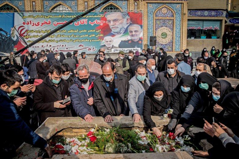 mohsen, fakhrizadeh, funeral, iran, soleimani