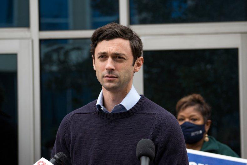 Georgia Democratic Senate candidate Jon Ossoff