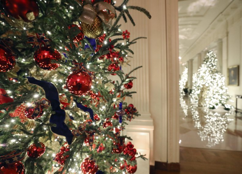 The White House Previews Decor For The