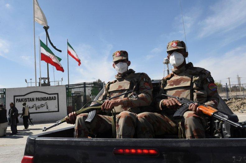 pakistan, military, border, iran, covid-19