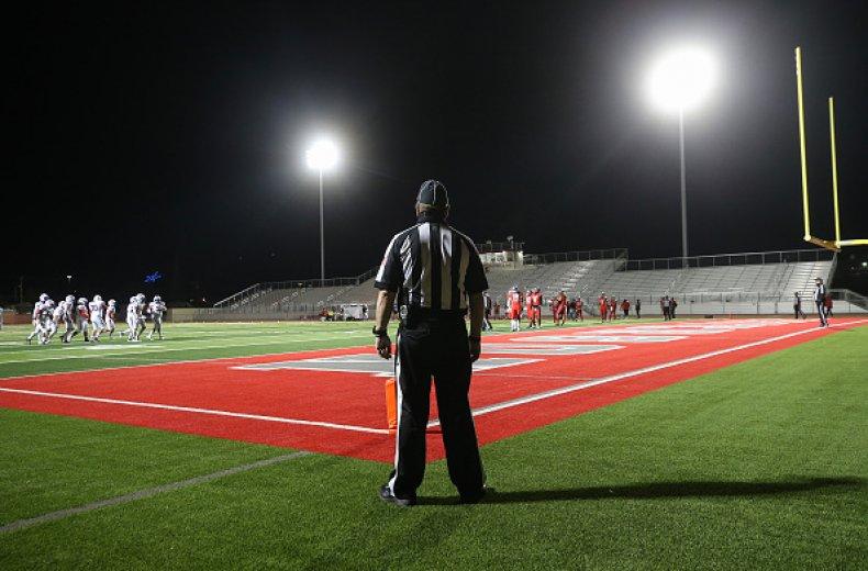 Texas Player Attacks Referee