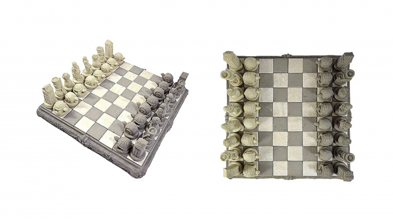 Cast Stone Chess Set