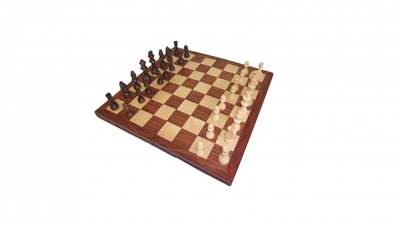 Large Wooden Chess Set