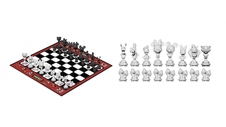 Mickey Mouse Chess Set